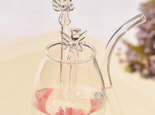 创意礼品 小杂件 玻璃天使搅拌棒 调味棒 祝福宝宝 可爱小天使,创意礼品,