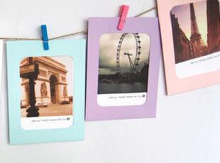【超唯美】悬挂纸相框组合 照片墙 韩版6寸 DIY相册,创意礼品,