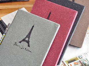 三年二班●铁塔记忆 复古相册本 相册集 赠角贴 4款,创意礼品,