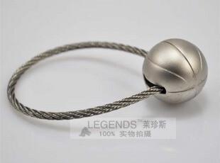 炫酷钢丝篮球运动钥匙扣钥匙圈汽车腰挂金属钥匙圈 D0415,创意礼品,