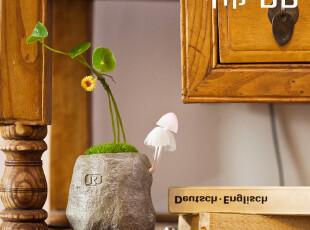 新奇礼物送男友女友的实用创意礼品光控小夜灯 节能变色蘑菇灯,创意礼品,