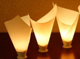 英国TOG原装进口 创意礼品 羊皮纸防吹灭设计 兰花蜡烛灯3件套,创意礼品,