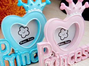 XK 王子与公主礼品相框 宝宝庆生 回礼像框 气球吊坠,创意礼品,