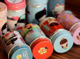 天克 安藤木子 可爱卡通 秘密铁盒 心情小铁罐 31天胶卷日志,创意礼品,