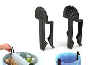 吉满 垃圾桶夹子 日式家居垃圾夹子 垃圾桶固定架2只装no,创意礼品,