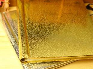 韩国 宝宝成长记录 10寸 无需角贴 自粘相册 金银DIY相册,创意礼品,