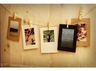 韩国 欧式创意 悬挂纸 相片框 照片墙 相框墙 相框组合 6寸,创意礼品,