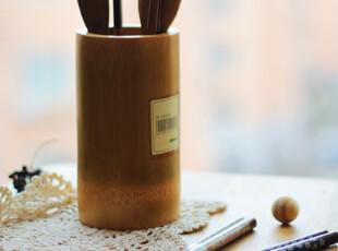 天然 竹筒 筷子笼 笔筒 花器/crafts /,创意礼品,
