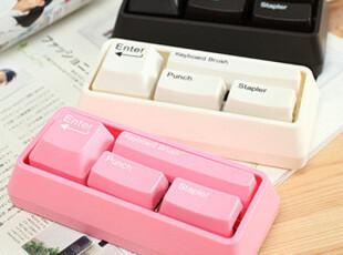懒角落★日韩国 韩版 键盘造型 创意 办公文具 4件套装 24034,创意礼品,