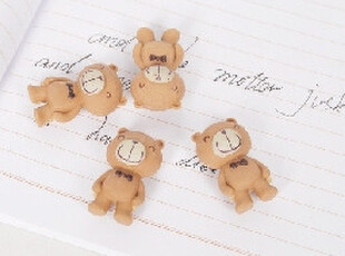 【智纳创意】创意小商品\韩国文具\可爱小熊橡皮擦(4个装),创意礼品,