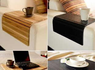 宜家风格/出口/实木橡木柞木/扶手垫/竹简式魔术垫/杯垫/隔热垫,创意礼品,
