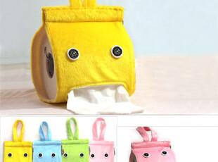 创意纸巾抽 超可爱懒人 小精灵可爱布艺纸巾抽 时尚家居生活用品,创意礼品,
