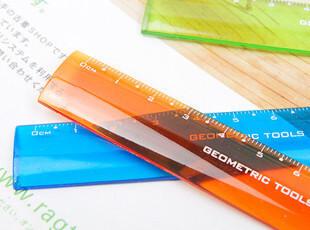 生活糖果 48包邮 创意文具 小青蛙 透明彩色 12CM 尺子 直尺,创意礼品,