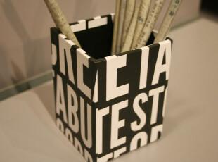 Fers'正版淘宝独家超厚纸板笔筒 笔座 文具 办公用品 收纳盒,创意礼品,
