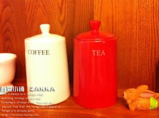 【有爱小铺】 杂货zakka  家居 茶叶咖啡陶瓷 储物罐,创意礼品,