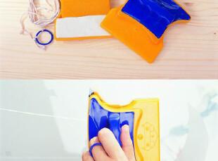 新奇特懒人生活日用品百货小商品创意家居依来洁双面玻璃清洁器H,创意礼品,