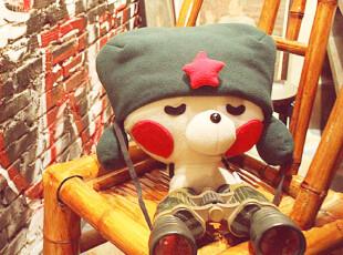 抱璞创意 原创手工 熊小迈 毛线玩偶 可爱创意公仔 个性家居摆件,创意礼品,