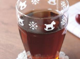 U-PICK 原品生活 灯工玻璃九棱杯-木马 咖啡杯 果汁杯,创意礼品,