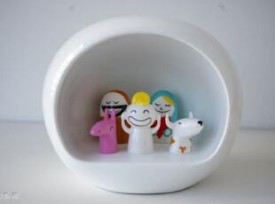 意大利Alessi 瓷器公仔 限量版 诺亚方舟 圣诞礼物 AMGI10,创意礼品,