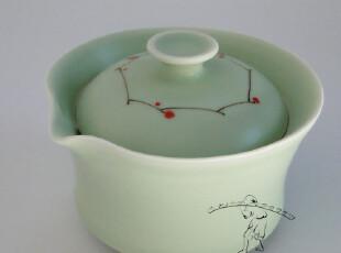 三浅陶瓷|森女 生活 手作 礼物〡小红果|粉青 精致 茶具,创意礼品,