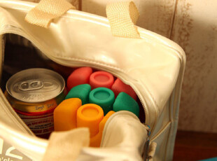 出口 ICE BOX 外用制冷冰盒 食物保鲜退烧冷敷 四色可选 0.15kg,创意礼品,