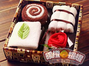 生日礼物小礼品送女生女友男友创意实用新奇特别老公老婆蛋糕毛巾,创意礼品,