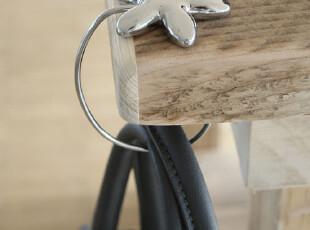 德国Troika 花朵便携桌上挂钩/桌面挂勾BGH30/CH 送女友 2012新品,创意礼品,