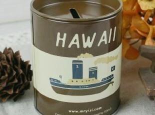 CORNER ZAKKA 杂货 YiZi环游世界铁皮盒系列-轮船储蓄罐/存钱罐,创意礼品,