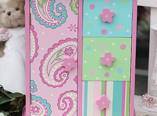 皇冠名店ST-001高档木制粉色公主小收纳柜/摆件/韩式/装饰,创意礼品,