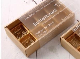 【韩国烘焙包装】透明抽屉式牛皮纸色巧克力盒1枚  现货,创意礼品,