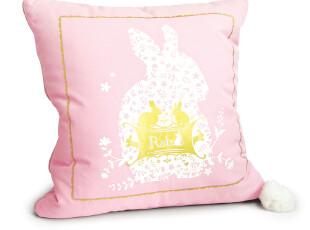 美丽说推荐香港Semk创意礼品 Rab.B小兔抱枕连被午睡毯0800680,创意礼品,
