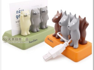 kamkam猫猫dondon狗狗理线器收纳架创意名片座插架香港ZENSE正品,创意礼品,