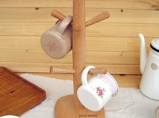 Lasion 出口原单 正品 进口榉木 杯架 托 马克杯绝配,创意礼品,