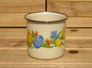 『樂樂堂』小花系列  8CM搪瓷杯 单料款,创意礼品,