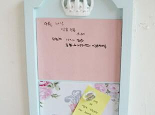 『韩国网站代购』扮美家居 精致皇冠装饰留言板,创意礼品,