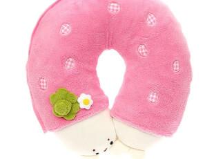 2.25 Mother garden SIROTAN 变身草莓U形颈枕 可拆洗 4347 0.4kg,创意礼品,