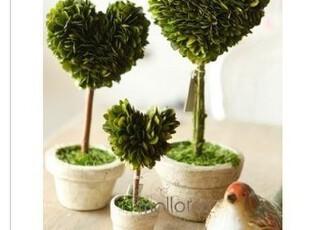 【马洛卡】美克美家火热情人节礼物心形绿色活植物,创意礼品,