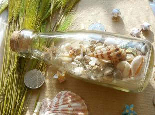 唯心饰家 幸运瓶\许愿瓶\漂流瓶婚礼 地台地中海风情家居装饰摆件,创意礼品,