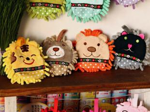 日本家庭清洁 粒粒绒 多用清洁擦 彩虹动物园 十款选,创意礼品,