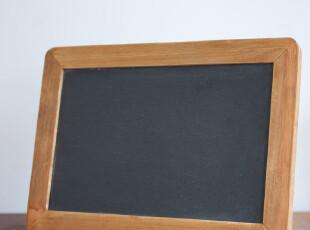 创意天然石留言板 多功能实木公告板 咖啡厅酒吧装饰黑板 zakka,创意礼品,
