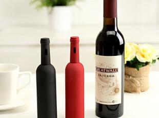 懒角落★创意家居 创造时尚 喷胶红酒造型 开瓶器 35282,创意礼品,