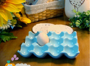 美丽说推荐 鸡蛋盘. zakka杂货生活 陶瓷鸡蛋盘/鸡蛋盒/蛋托,创意礼品,