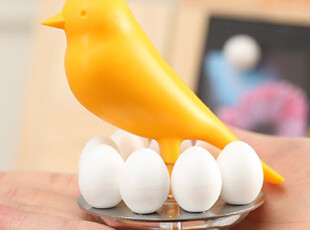 懒角落★创意家居 可爱鸟蛋磁铁 留言磁铁 冰箱贴 桌面摆件 33424,创意礼品,