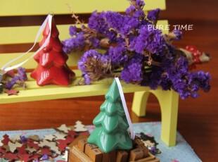 【PURE TIME】出口ZAKKA欧式陶瓷挂件摆件 圣诞色の圣诞树 孤品特,创意礼品,