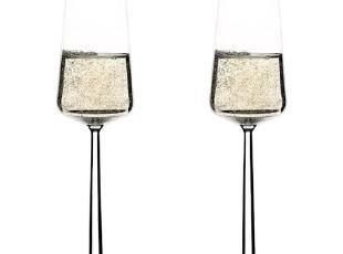 芬兰Iittala Essence 精髓香槟杯 一对 结婚礼物 I950580,创意礼品,