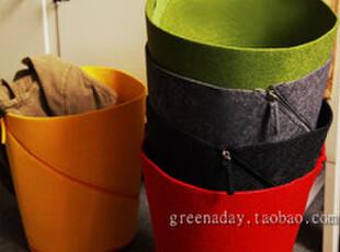 出口 定制 秋冬 纯色 毛毡 全集 之 便携组装式杂物筒 全五色,创意礼品,