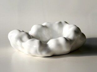 HOME LIKE 怡室怡家 现代风格 骨瓷云朵烟灰缸,创意礼品,