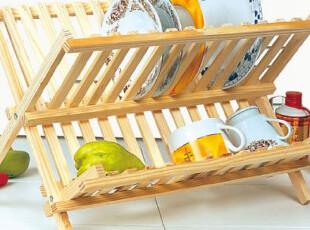 原木碗碟架滴水架 厨房置物架 收纳清洁 创意家居 家居百货244699,创意礼品,