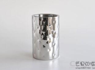 意大利Alessi 新品 MATEGLACE 不锈钢冰桶/冰酒器/酒插器 MSA11,创意礼品,