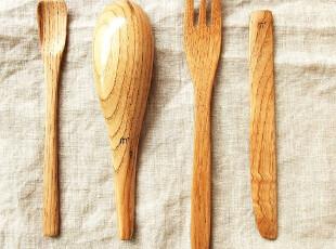 【icatlife】日单 有关美好 栗木餐具 人气大集结 4款选,勺筷,